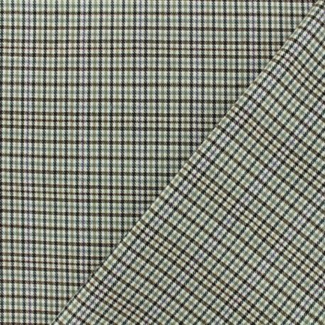 Lurex Tailor fabric - Beige Newcastle x 10cm