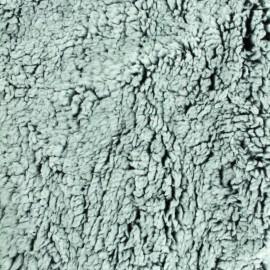 Fourrure mouton - Noir/gris x 10cm
