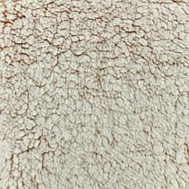 Fourrure mouton - Brique x 10cm