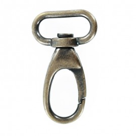 Non Locking Metal Carabiner - Bronze