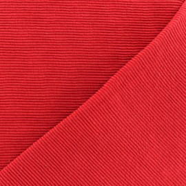 500 Rays Jersey fabric - red x 10cm