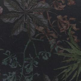 Tissu Jersey Milano Adela - noir x 10cm