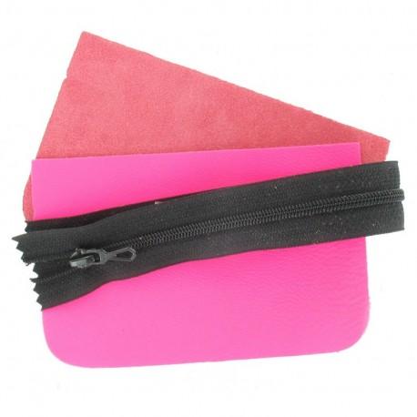Kit petite pochette Fluo rose
