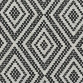 Velvet Jacquard fabric - grey x 10 cm