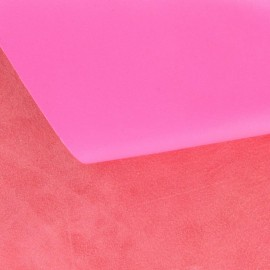 Cuir fluo rose (2 tailles)