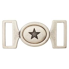 Boucle Métal Starry - Vieil Argent