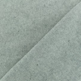 Chambray Cotton fabric - Grey x 10cm