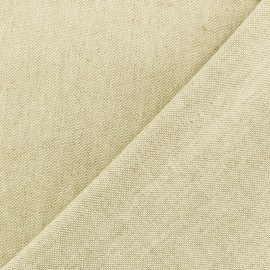 Chambray Cotton fabric - raw x 10cm