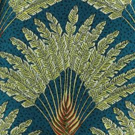 Jacquard fabric - Peacock Atoll x 28cm