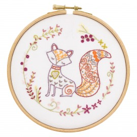 Bernard le Renard Embroidery Kit