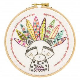 Lulu, Chef de Tribu Embroidery Kit
