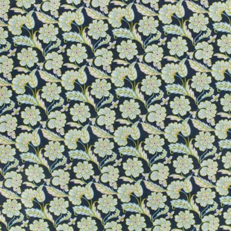 Liberty fabric - Chester Row A - blue x 10cm