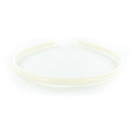 Serre-tête à Customiser 7 mm - Blanc