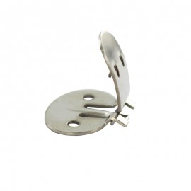 20 mm Shoe Clips - Silver