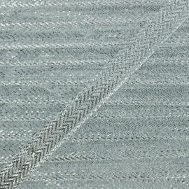 Lamé Ribbon - Silver