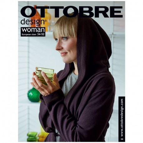 Ottobre Design woman sewing pattern - 5/2018