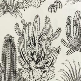 Tissu Alexander Henry Desert Floor - Blanc/Noir x 10cm