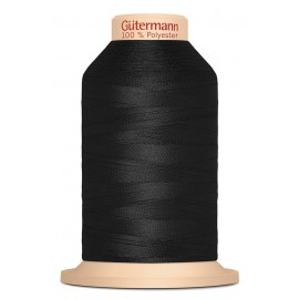Overlock Thread 2000 m 180 - Black Tera