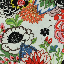 Cotton fabric - Multi Garden at Coyoacan x 10cm