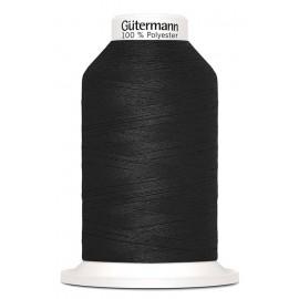 Cône fil à coudre Gütermann Miniking 1000 m - Noir