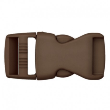 Side Release Buckle - Brown