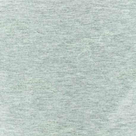 Cotton jersey fabric - Yellow Dino x 10cm