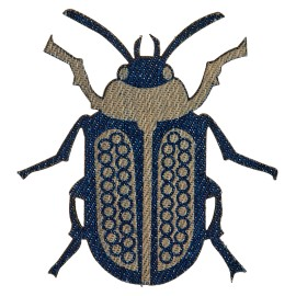 Jeans Coloeoptera Iron-on Patch - A