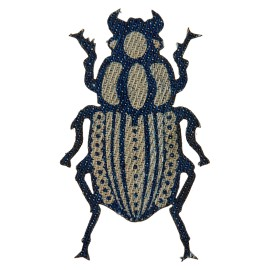 Jeans Coleoptera Iron-on Patch - C