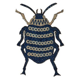 Jeans Coleoptera Iron-on Patch - D