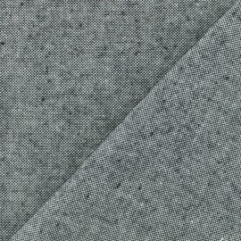 Chambray Cotton fabric - Black x 10cm