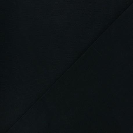 Tissu Coton uni noir x 10cm
