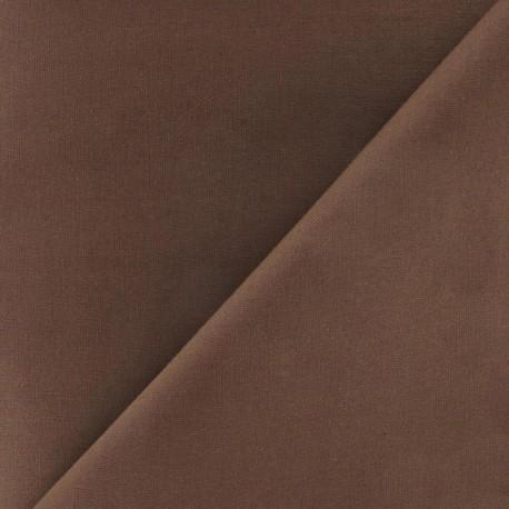 Cotton Fabric - chocolate x 10cm