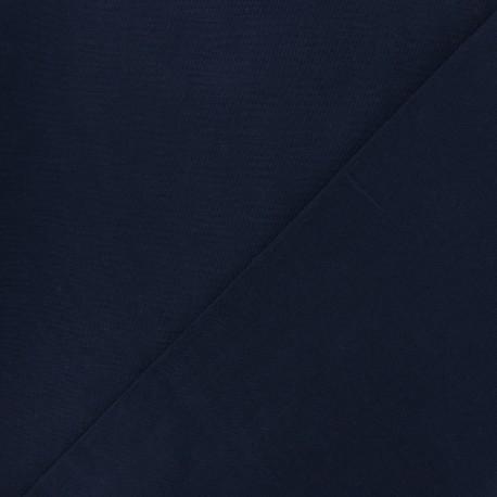 Tissu Coton uni marine x 10cm