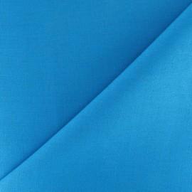 Tissu Coton uni turquoise x 10cm