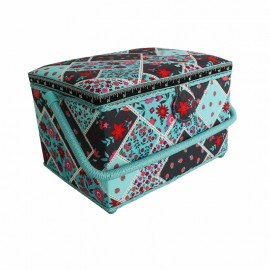 Rectangular Sewing Box - Fruit & Flower