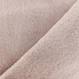 Fur fabric - Light pink Vancouver x 10 cm