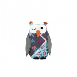 Owl Pin Cushion - Fruit & Flower