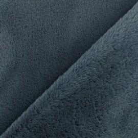 Tissu fourrure Vancouver - Gris x 10cm