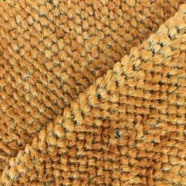 Tissu fourrure Marmotte - Marron x 10cm