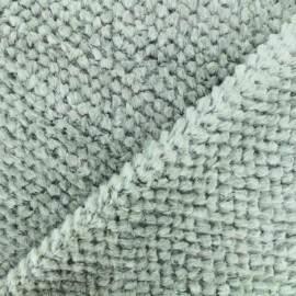 Tissu fourrure Marmotte - Gris x 10cm