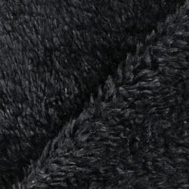 Tissu fourrure Misty - noir x 10cm