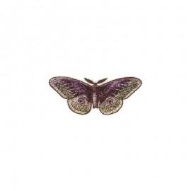 Iridescent Natura Iron-On Patch - Night Butterfly