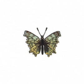 Iridescent Natura Iron-On Patch - Day Butterfly