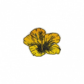 Polynesia Collection Iron-On Patch - Hibiscus