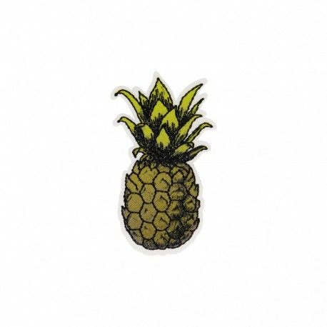 Polynesia Collection Iron-On Patch - Pineapple
