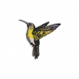 Polynesia Collection Iron-On Patch - Humming-bird