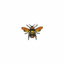 Polynesia Collection Iron-On Patch - Bee