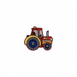 Truck Collection Iron-On Patch - Tractor