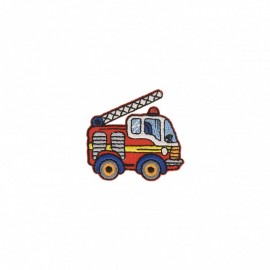 Truck Collection Iron-On Patch - Firefighter