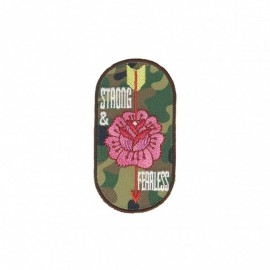 Fearless Collection Iron-On Patch - Strong